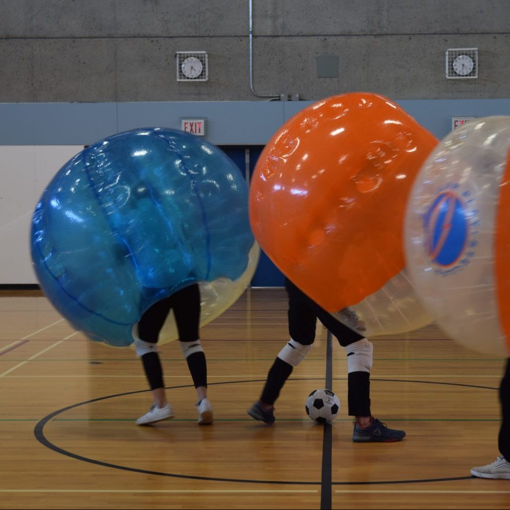 Collision Theory: Bubble soccer